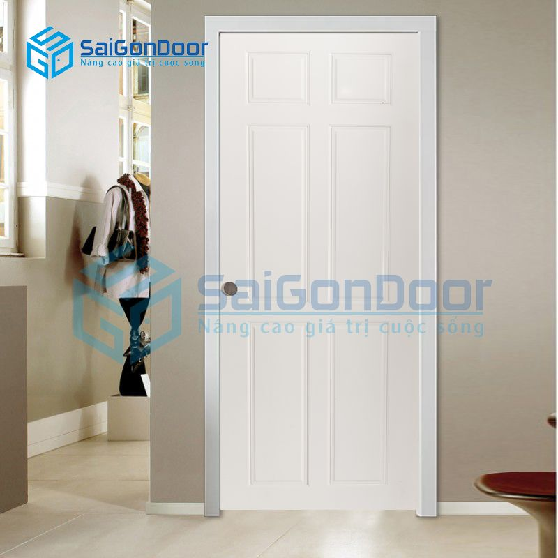 Cửa phòng bếp dễ vệ sinh và lau chùi SYA.305-A05