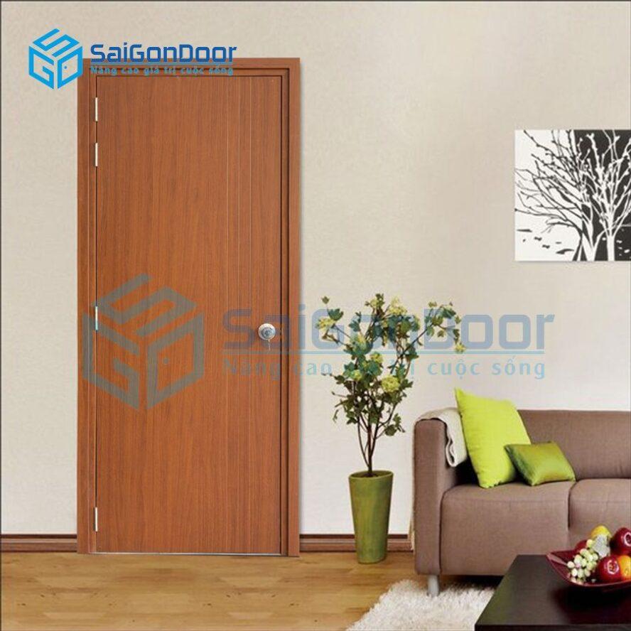 Mẫu cửa phòng ngủ đẹp cách âm SYB.P1R3-B07