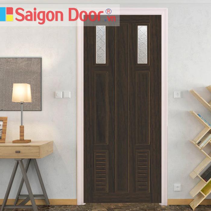 Sản phẩm cửa gỗ cao cấp MDF chất lượng tại Sài Gòn Door
