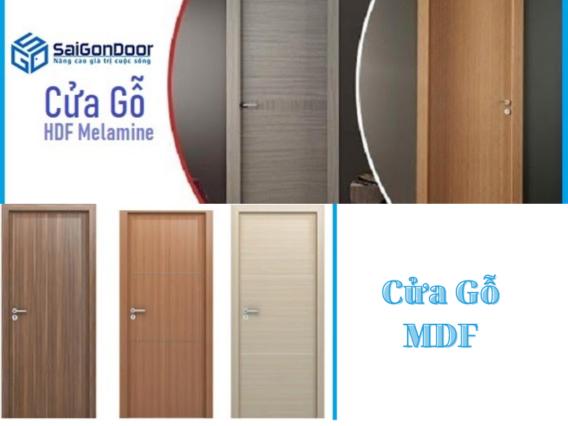 Phân Biệt Các Loại Cửa Gỗ Công Nghiệp MDF, HDF, MFC